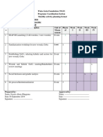 Feyera September Report and October Plan