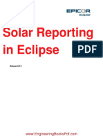 Solar Reporting in Eclipse