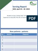 MR 25-26 April 2019 Pneumonia