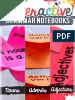 Grammar Interactive Notebook Freebie