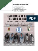 I Carrera Solidaria Guaro