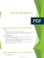 Biorisk Management