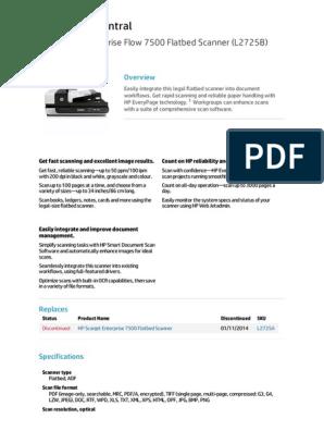 Hp Scanner Datasheet Image Scanner Computing