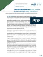 OP310PT Politicas Desenvolvimento Rural Analise Foco Sobre Regioes Norte Nordeste