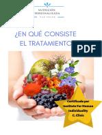 Pasos Tratamiento Nutrición Personalizada