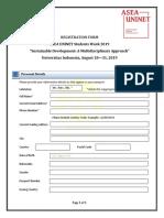 Asea Uninet Sw Application Form 1