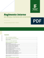 Regimento Interno - Santana Do Livramento