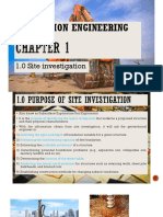 Chapter 1 Site Investigation
