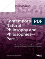 Contemporary Natural Philosophy and Philosophies - Part1