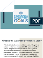 sustainability goals presentation 3a