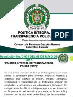 05-Presentacion Politica Integrald Transparencia Policial-pitp