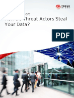 THREAT ACTORS STEAL DATA