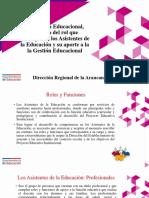 PPT Seminario Rol Asistente Gestión Educacional SIE