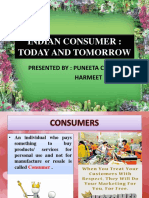 INDIAN Consumer- Today and Tomorrow