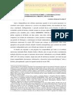 PROPOSTAS PARA UM ESTUDO SOBRE A CONFORMAÇÃO DA  HISTORIOGRAFIA CHILENA, SÉCULO XIX