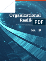Organizational Resilience Cranfield Research Report