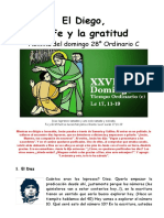 28OrdC-El Diego, La Fe y La Gratitud
