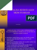 Analisa Kesesuaian Skim Syariah