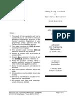 CON4308 Advanced Civil Engineering Mathematics Pastpaper 2017ENGTY005