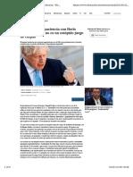 Tusk pierde la paciencia con Boris Johnson