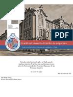 Estudio Sobre Brechas Legales Para Chile, Implementacion Cipdhpm