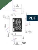Arduino Audio Meter 1590BBS Drilling Stencil