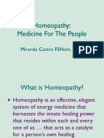 Intro Homeopathy