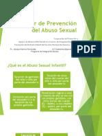 Taller de Prevención Del Abuso Sexual