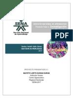 Proyecto Investigación de Mercados Parte 1
