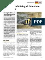 125 Underground Mining of Limestones and Gypsum