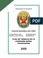 Plan Trabajo 2020