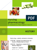 Introduction to Nursing Pharmacology