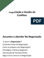 Negociação e Gestão De