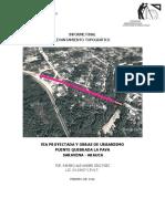 Informe Final Topografía - Via Proyectada y Obras de Urbanismo (1)