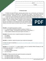 Atividade de Portugues Agente Da Passiva 9º Ano Respostas