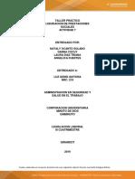 Taller Practico Liquidacion y Prestaciones Sociales