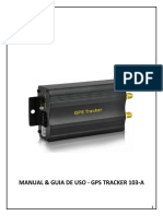 Manual en Español - GPS Tracker 103 A