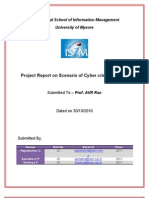 Project Report on Scenario of Cyber Crimes in India(2)