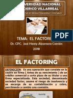 El Factoring  2018 unfv.pptx