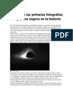 Estas son las primeras fotografías de agujeros negros en la historia.docx