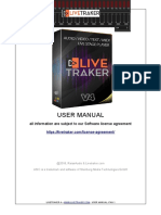 Livetraker - English User Manual
