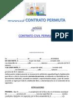Modelo Contrato Permuta 2017 Pp