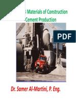 30 Update CIV 313 Cement Production 4