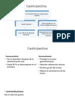 Caolin/ pectina