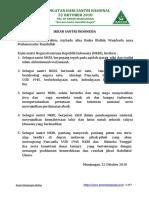 TATA URUTAN UPACARA  IKRAR SANTRI DAN TEKS RESOLUSI JIHAD NU.pdf