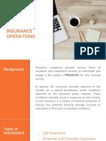 Insurance Operation