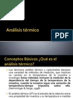 Análisis Térmico y Calorimetría