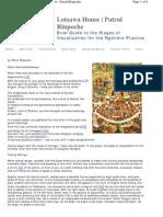 Brief Ngondro Guide