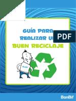 guía reciclaje