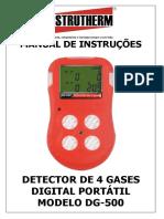 Manual Detector de Gases
